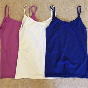 3 colorful camisoles bundle